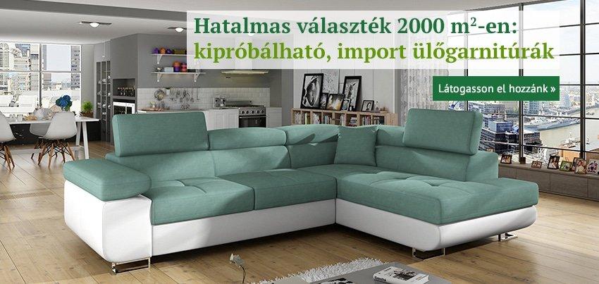 Nagy választék, import ülőgarnitúrák