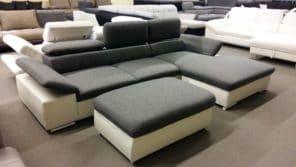 ALCUDIA kényelmi kanapé ajándék puffal