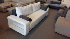 Modern üveglapos kanapé