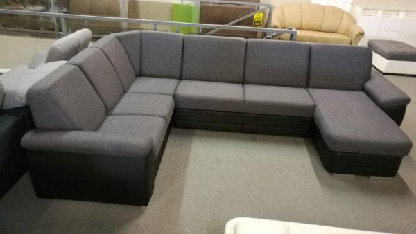 BRITTANY hagyományos eleganciát megtestesítő U alakú kanapé