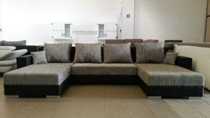 Modern U alakú kanapé