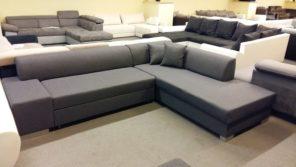 Letisztult vonalvezetésű elegáns kanapé