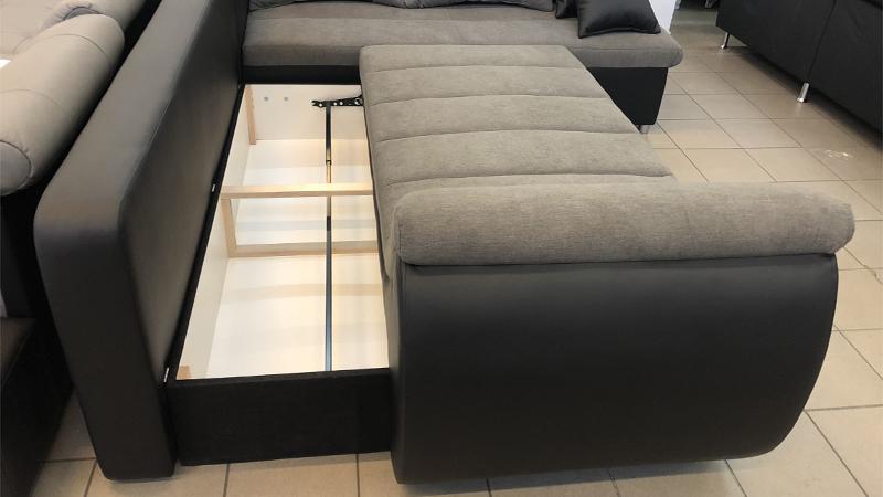 Rondo ágyneműtartós design kanapé