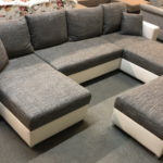 Caro jobbos és balos állásra is szerelhető U alakú kanapé