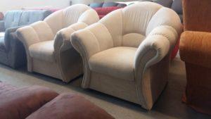 Kényelmes, romantikus hangulatú fotel
