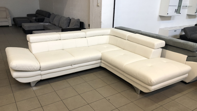 Enterprise hófehér kényelmi kanapé