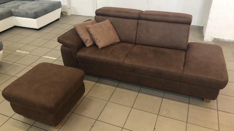 Lava kanapé ajándék puffal