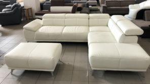 Felipe L alakú kanapé és puff