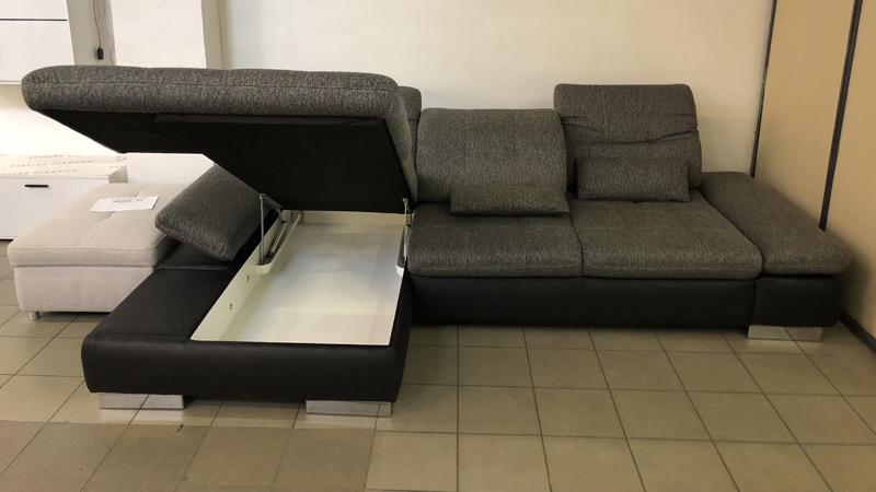 Santa Lucia L alakú, ágyneműtartós kanapé
