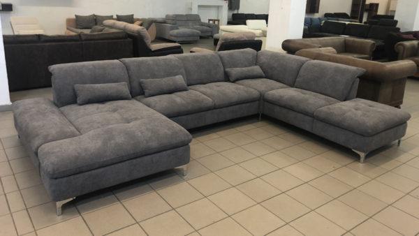 Cleveland hatalmas U alakú családi kanapé