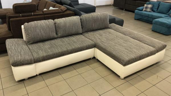 Fabona dekoratív, strapabíró L alakú kanapé