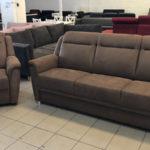 Katherina kanapé ajándék fotellel, fahéj színben