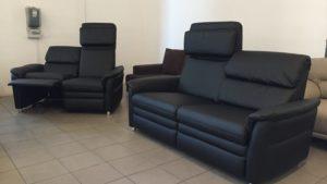 Chelsey ülőgarnitúra, külön állítható relax-funkcióval