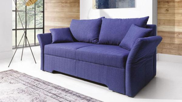 Amalfi klasszikus formájú sík kanapé