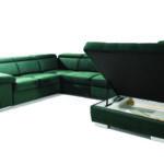 Rosso U kanapé ágyneműtartóval