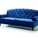 Lamezia tűzött támlás kanapé
