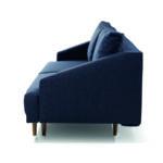 Pawia kanapé design karfával