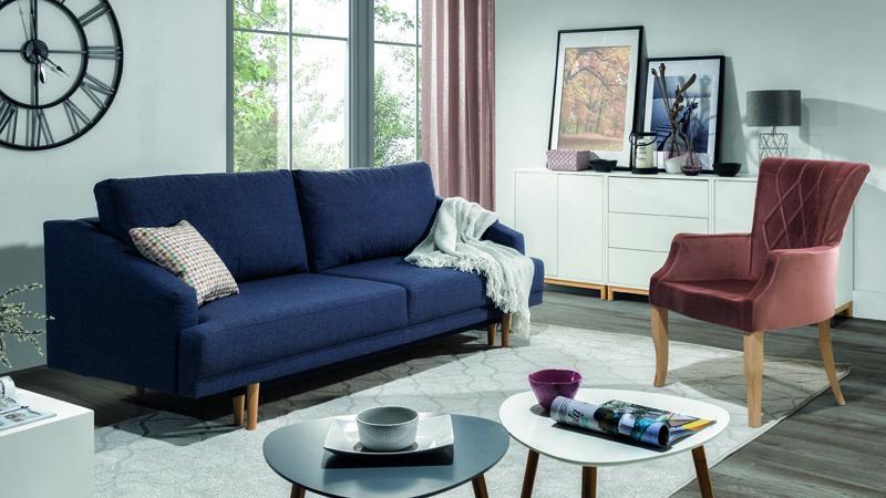 Pawia kanapé garzonokba