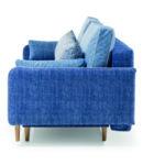 Sinio kanapé egyszerű formákkal